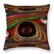Spiral Warp Throw Pillow