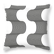 Spiral_02 Throw Pillow