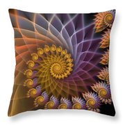 Spiralined Throw Pillow