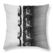 Spiral Stairs Forever Throw Pillow