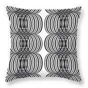 Spirals_01 Throw Pillow