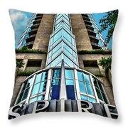 Spire Throw Pillow by Doug Sturgess
