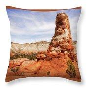Spire Rocks At Kodachrome Basin State Park Throw Pillow