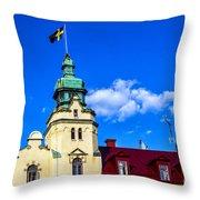 Spires Of Kalmar Throw Pillow