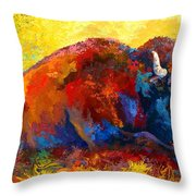 Spirit Brother Throw Pillow