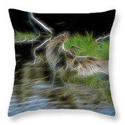 Spirit Garden 4 Throw Pillow
