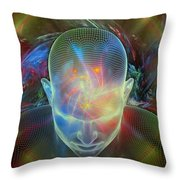 Spirit Guide Throw Pillow