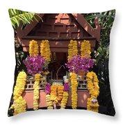 Spirit House Throw Pillow