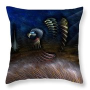 Spirit Of A Duck Throw Pillow
