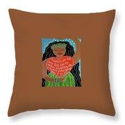 Spirit Of Aloha Throw Pillow