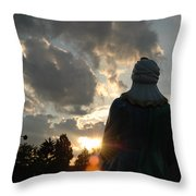 Spirit Of Christ Throw Pillow