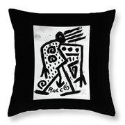 Spirit Of Man Throw Pillow