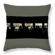 Spirit Of New York Throw Pillow