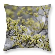 Spirit Of The Dogwood Throw Pillow