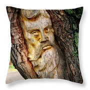 Spirit Of The Forest ... Throw Pillow
