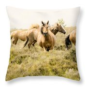Spirit Of The Horse Throw Pillow