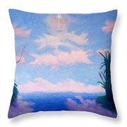 Spirit Of The Lake Throw Pillow