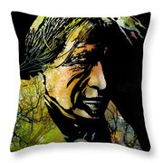 Spirit Of The Land Throw Pillow by Paul Sachtleben