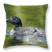 Spirit Of The North Throw Pillow
