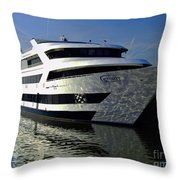 Spirit Of Washington Throw Pillow