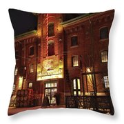 Spirit Of York Throw Pillow