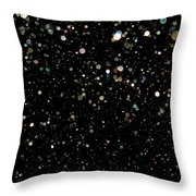 Darkness Becomes You Throw Pillow