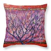 Spirit Tree 6 Throw Pillow