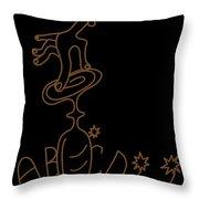Spiritist Seance Throw Pillow