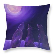 Spirits In The Night Throw Pillow