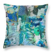 Spirits Of The Sea Throw Pillow