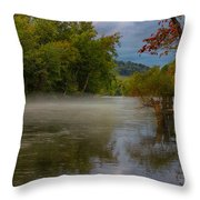 Spirits On The Water Throw Pillow