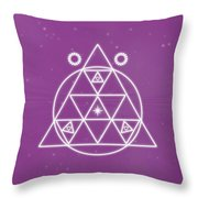 Spiritual Awakening Throw Pillow