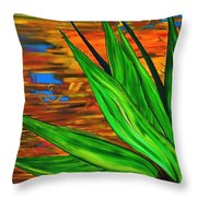 Spiritual Beingness Of Plants And Theta Throw Pillow