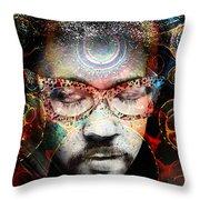 Spiritual Glasses Throw Pillow