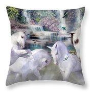 Spiritual Harmony Throw Pillow