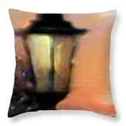 Spiritual Lamp Throw Pillow