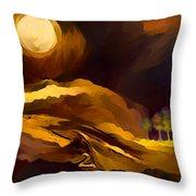 Spiritual Landscape Throw Pillow
