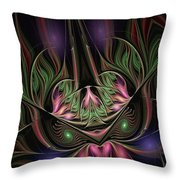 Spiritual Mask Throw Pillow