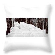 Spiritual Rest Throw Pillow