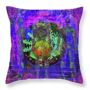 Spiritual Traveler Throw Pillow