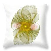 Spiro-girations Throw Pillow