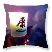 Spirit Of Health Throw Pillow