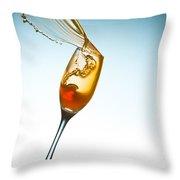 Splash-005 Throw Pillow