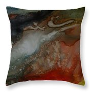 Splash 2 Throw Pillow by Joanne Smoley