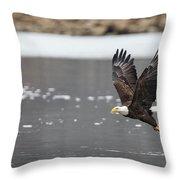 Splash And Grab Throw Pillow