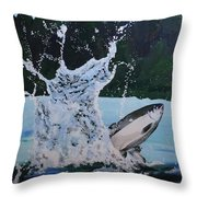 Splash Catch Throw Pillow
