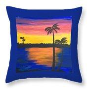 Splash Of Colors Throw Pillow