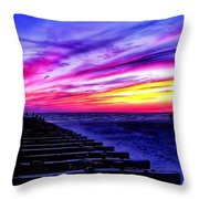 Splash Of Heaven Throw Pillow