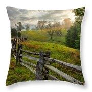 Splash Of Morning Light Throw Pillow