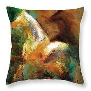 Splash Of White Throw Pillow